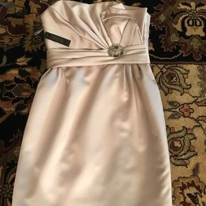 Sabella Couture Love Strapless Champagne Dress S12